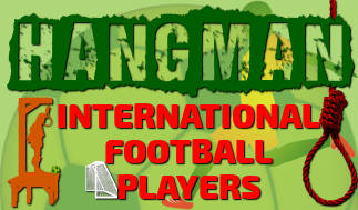 Hangman Intl' Football Players Game