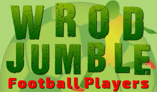 Word Jumble Football Players Game