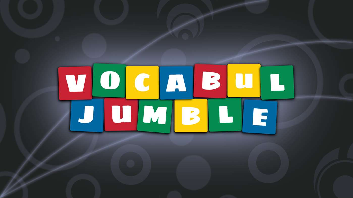 Vocabul Jumble Splash Image