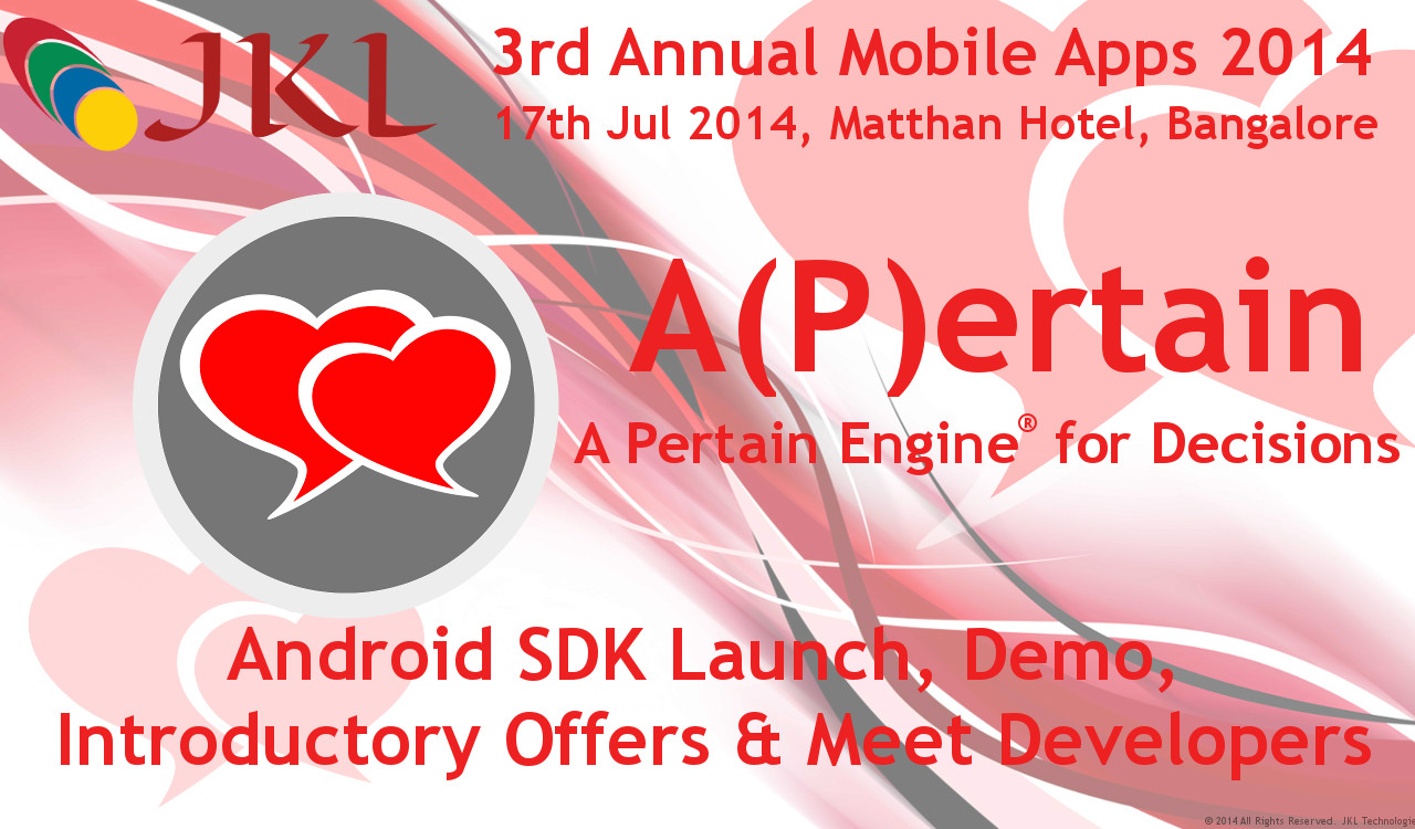 A(P)ertain Launch @ 3rd Annual Mobile Apps 2014