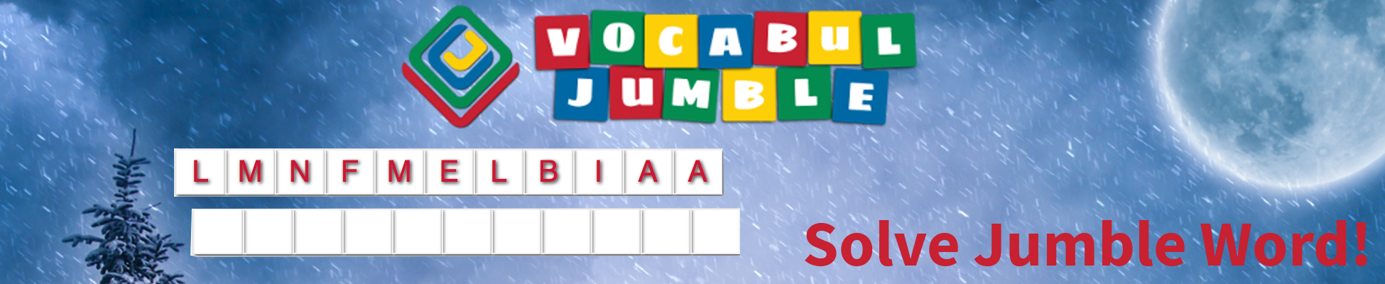 Vocabul Jumble