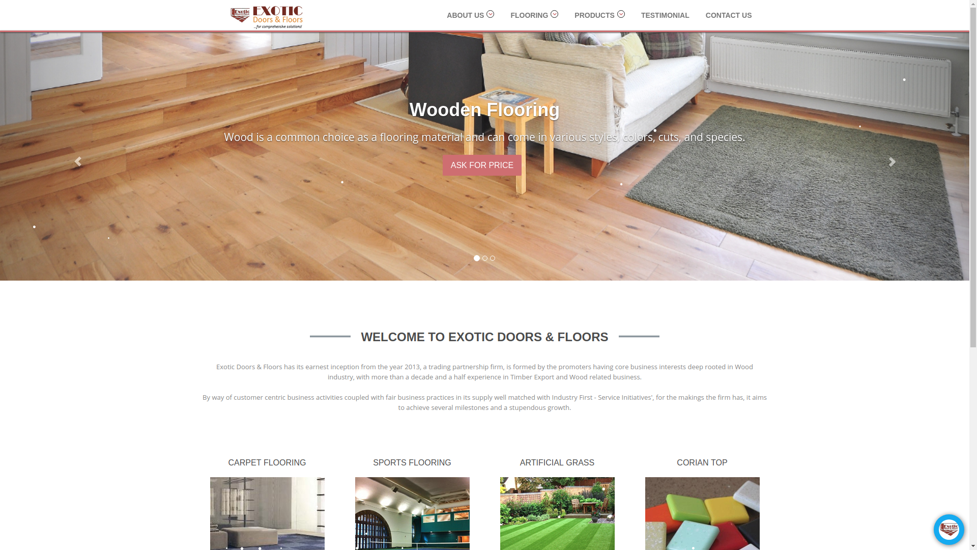 Exotic Doors & Floors JKL Portfolio